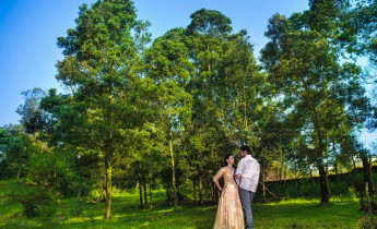Post wedding picturesque landscape Photography